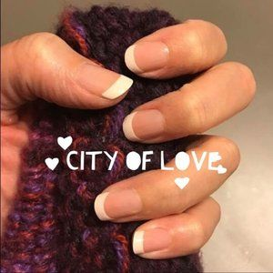 City of Love Color Street French Nail Strips